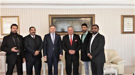 Yemen Heyeti Yeniden Refah Partisi'ni Ziyaret Etti